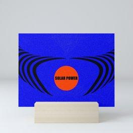 Solar power Mini Art Print