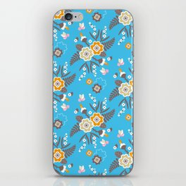 Cute flowers iPhone Skin