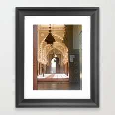 Mosque in Tangier, Morocco Framed Art Print