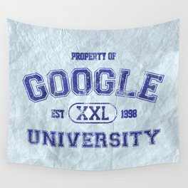 Google University Wall Tapestry