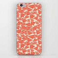 aviation iPhone & iPod Skins featuring School Yard Aviation Solid by Dianne Delahunty