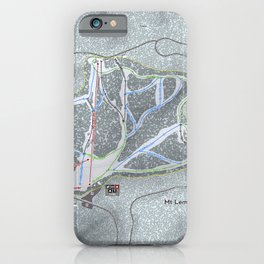 Mt Lemmon Resort Trail Map iPhone Case