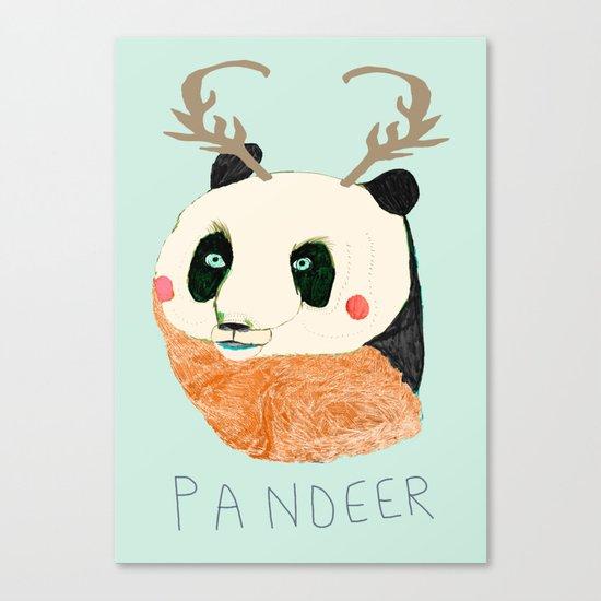 PANDEER :D Canvas Print
