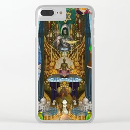 The Golden Cage Clear iPhone Case