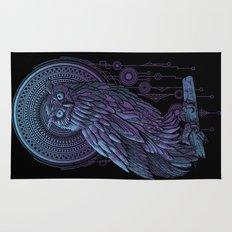 Owl Nouveau II Rug