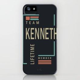 Team Kenneth iPhone Case