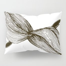 twins with mobius hairs Pillow Sham