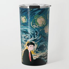 Taehyung Starry Night Travel Mug
