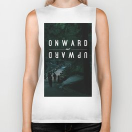Onward and Upward Biker Tank