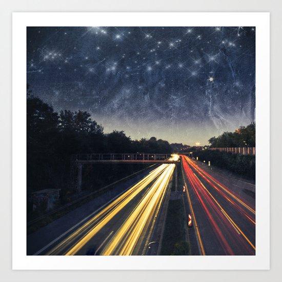 end of night Art Print