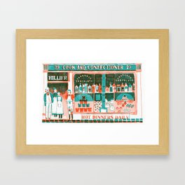Victorian Confectioners Framed Art Print