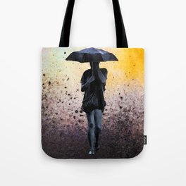 Through The Rain Tote Bag
