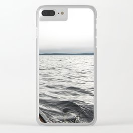 Canoeist Clear iPhone Case