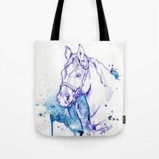 Blue Rodeo Tote Bag