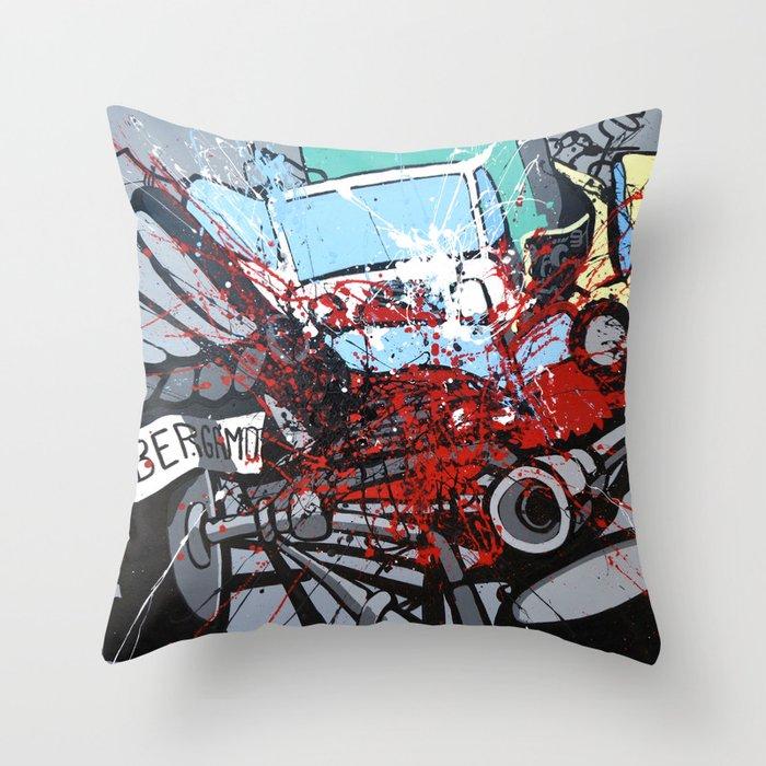 Atto di colore #2 Throw Pillow