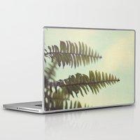 fern Laptop & iPad Skins featuring fern by Beverly LeFevre