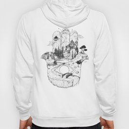 Hamsa in Nature Hoody