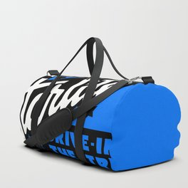 Starlite Drive-In Niagara Falls in Blue Duffle Bag