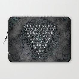 Abracadabra Reversed Pyramid in Charcoal Black Laptop Sleeve