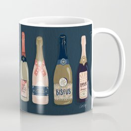 French Champagne Collection – Teal Coffee Mug