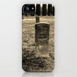 The Forgotten Graves iPhone Case