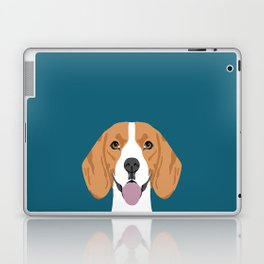 Lenon - Beagle gifts for pet owners and dog person with a beagle Laptop & iPad Skin