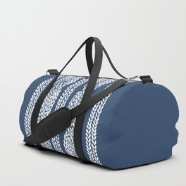 Cable Navy Duffle Bag