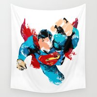 hero Wall Tapestries featuring HERO by ALmighty1080