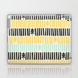 Mid-Century Modern illustrated Pattern Laptop & iPad Skin