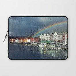 You Can't Have A Rainbow Without A Little Rain Laptop Sleeve