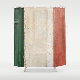 Italian Street Wall Shower Curtain