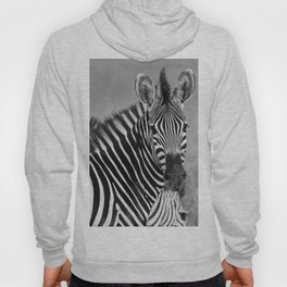 Zebra B&W Hoody