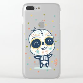 Dead day Clear iPhone Case