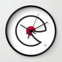 Japan Smile Wall Clock