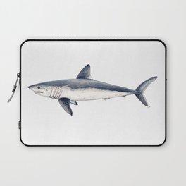 Porbeagle shark (Lamna nasus) Laptop Sleeve