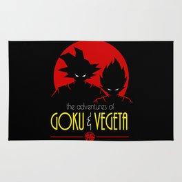 Goku & Vegeta Adventure Rug