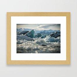 Jokulsarlon 2 Framed Art Print