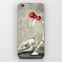 Cerasus Domestica iPhone Skin