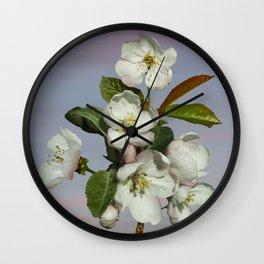 Spade's Apple Blossoms Wall Clock