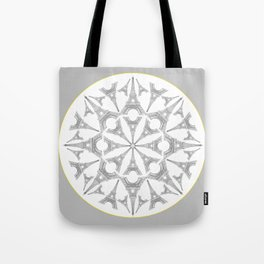 Paris in a Kaleidoscope Tote Bag