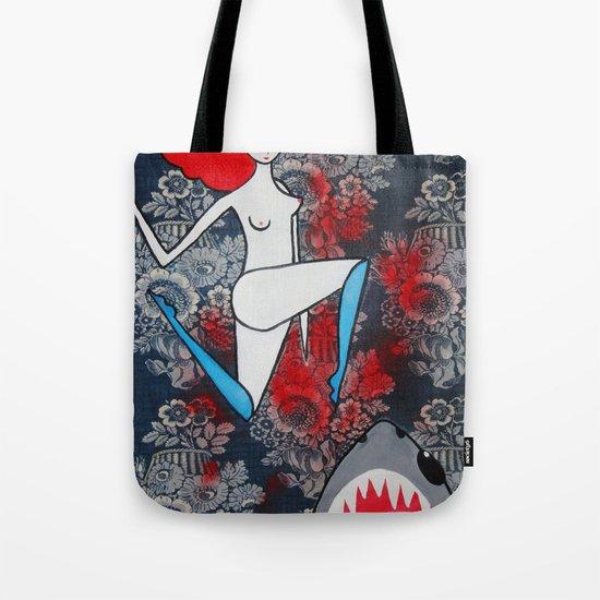 shark dreams Tote Bag