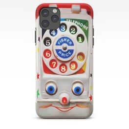 Classic Retro vintage Smiley Toys Dial Phone iPhone Case