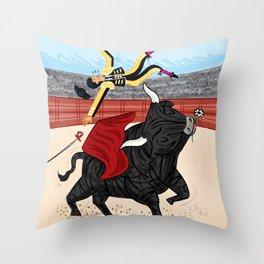 Death Of A Matador Throw Pillow