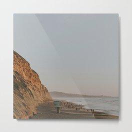 Torrey Pines Coastline Metal Print