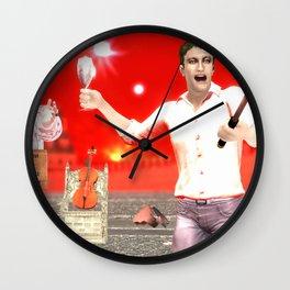 SquaRed:Converse Wall Clock