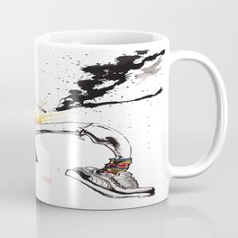 Hunter S Thompson by BINDU Coffee Mug
