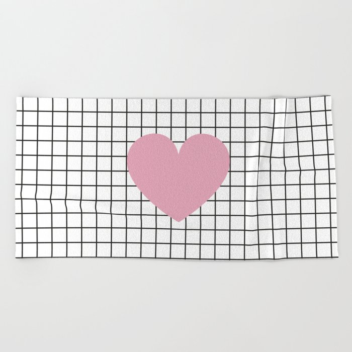 Heart #1 Beach Towel