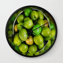 Olive you lots Wall Clock