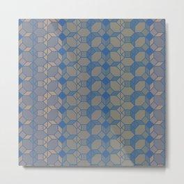 Octagonal creation Metal Print