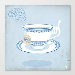 Royal Tea Canvas Print
